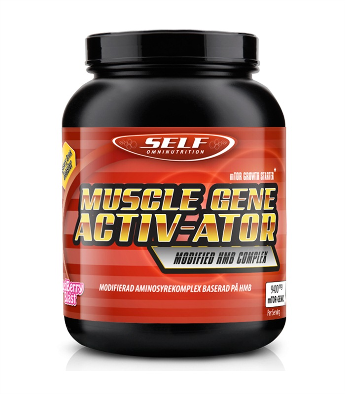 Muscle Gene Activator, Aminosyror - Self Omninutrition