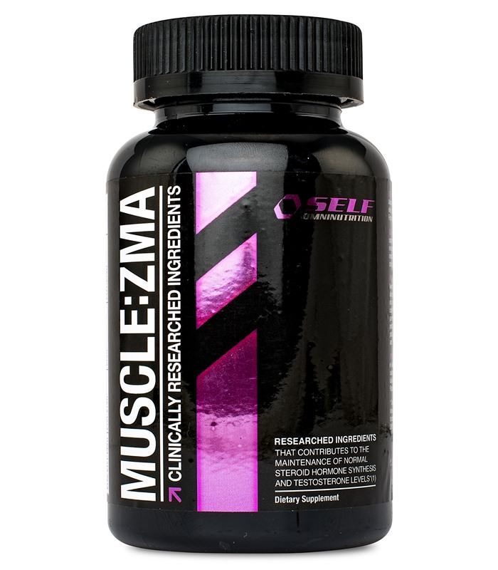 Self Omninutrition Muscle:ZMA, Muskelbyggande & Prestation - Self Omninutrition