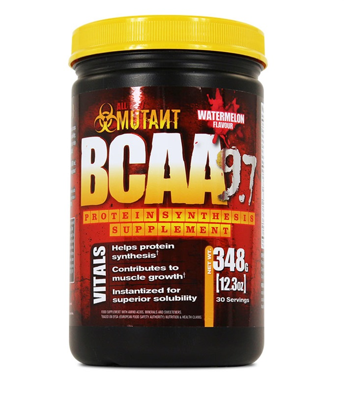 Mutant BCAA 9.7, Muskelbyggande & Prestation - Mutant