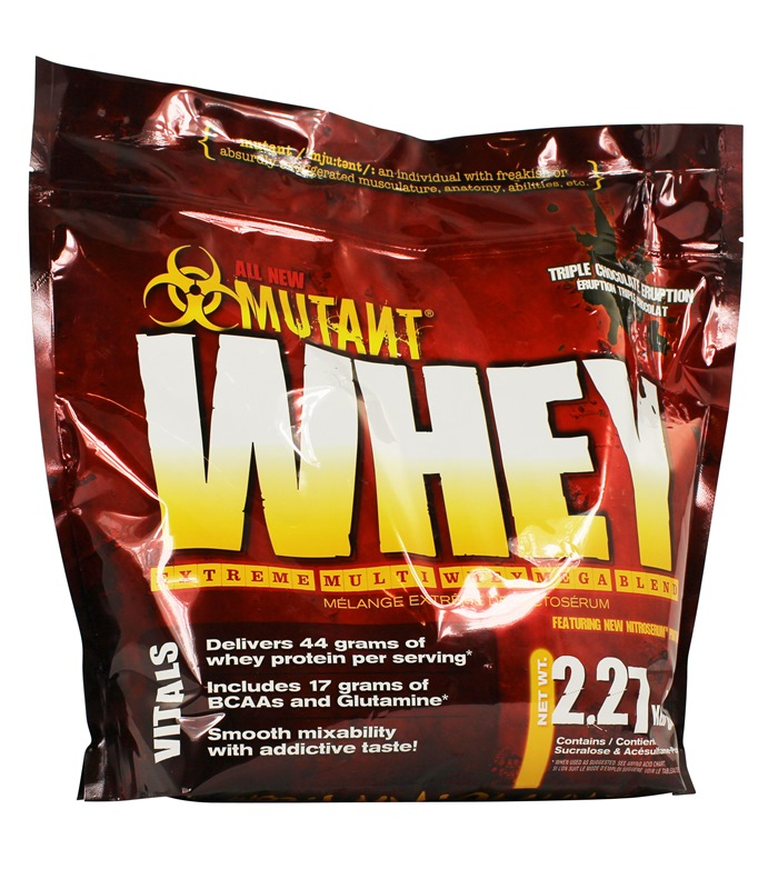 Mutant Whey, Muskelbyggande & Prestation - Mutant