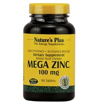 Natures Plus Mega Zinc