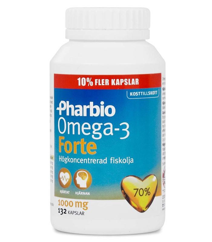 Bästa omega 3 fiskolja