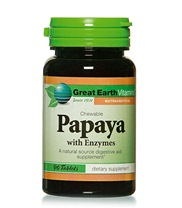 Papaya chewable
