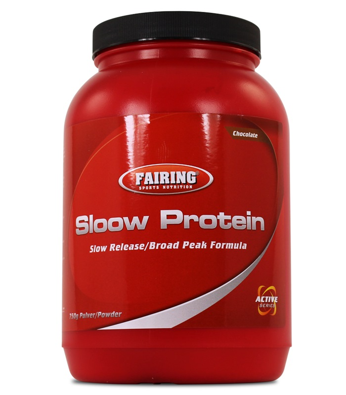 Sloow Protein New Edition, Muskelbyggande & Prestation - Fairing
