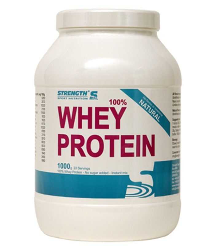 Strength Whey Protein, Näringstillskott, protein - Strength