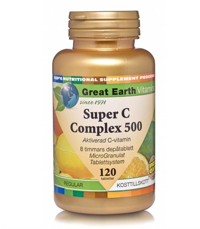 Great Earth Super C-Complex, Hälsa & Livsmedel - Great Earth