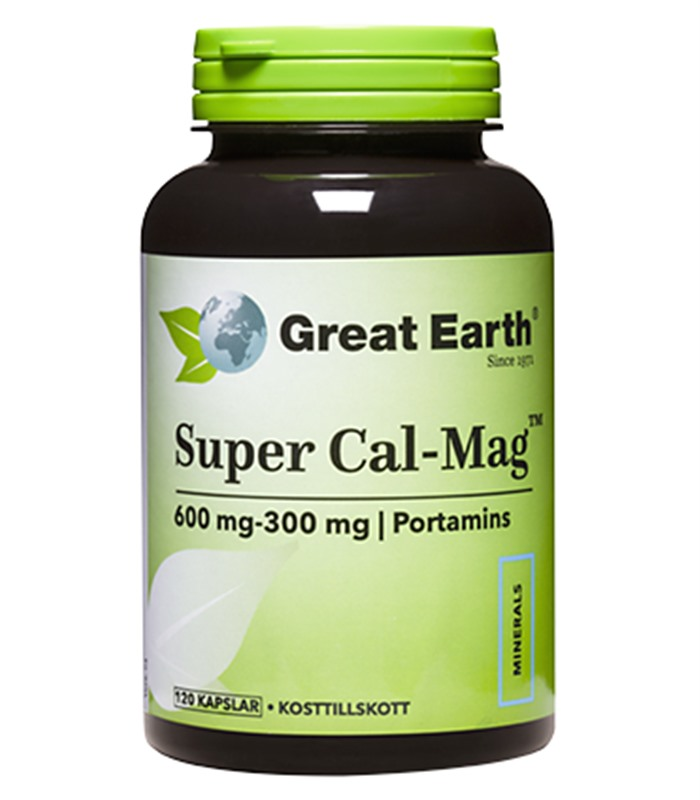 Super Cal-Mag 600-300, Hälsa & Livsmedel - Great Earth