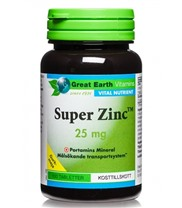 Super Zink 25 mg