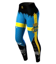 Sweden Nation Leggings 3.0