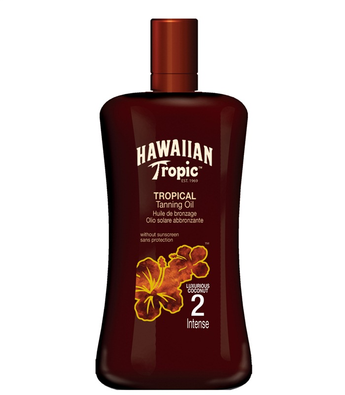 Hawaiian Tropic Tropical Tanning Oil Intense, Kroppsvård & Skönhet - Hawaiian Tropic
