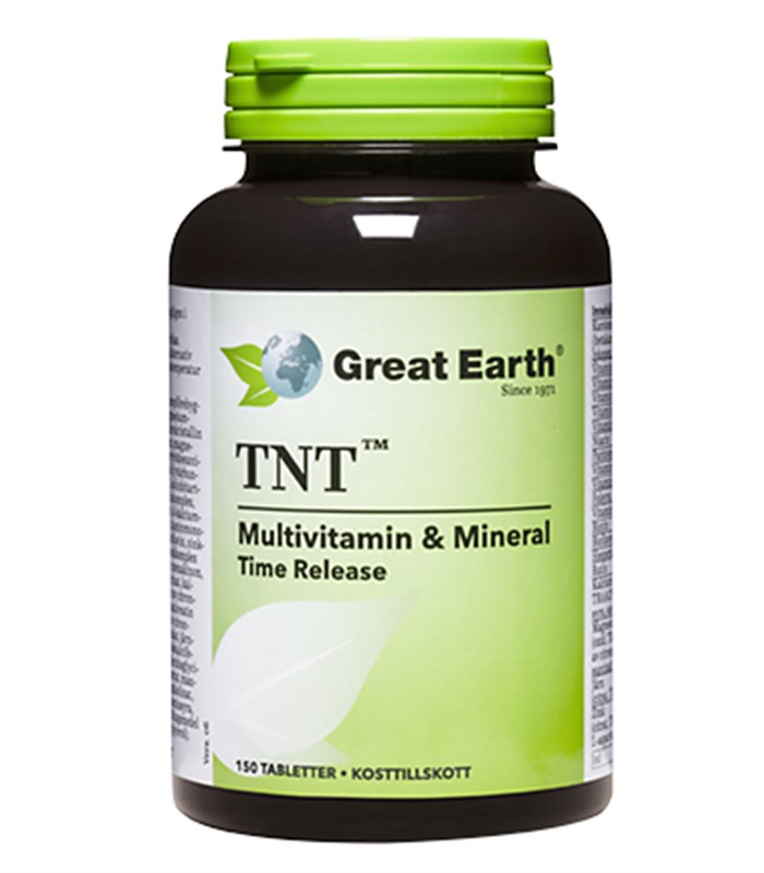 TNT Multivitamin, Hälsa & Livsmedel - Great Earth