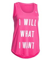 UA I Will What I Want Tank