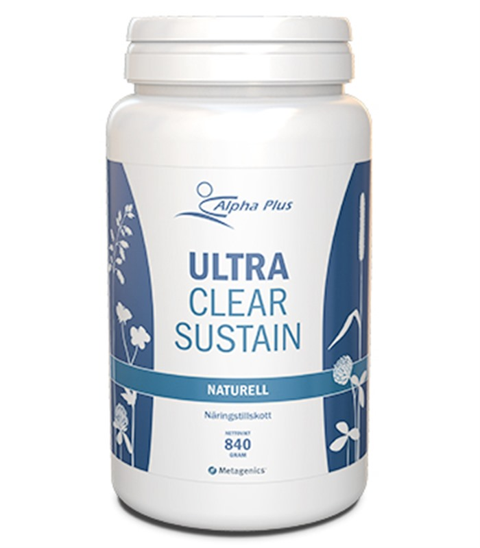 UltraClear Sustain, H�lsokost  - Alpha Plus