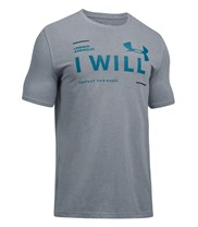 Under Armour Mens UA I Will T-shirt