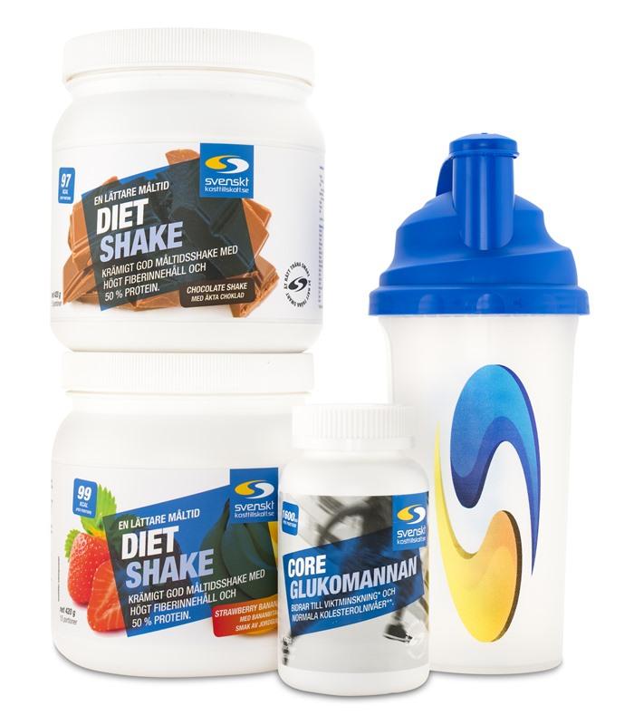 diet shake svenskt kosttillskott