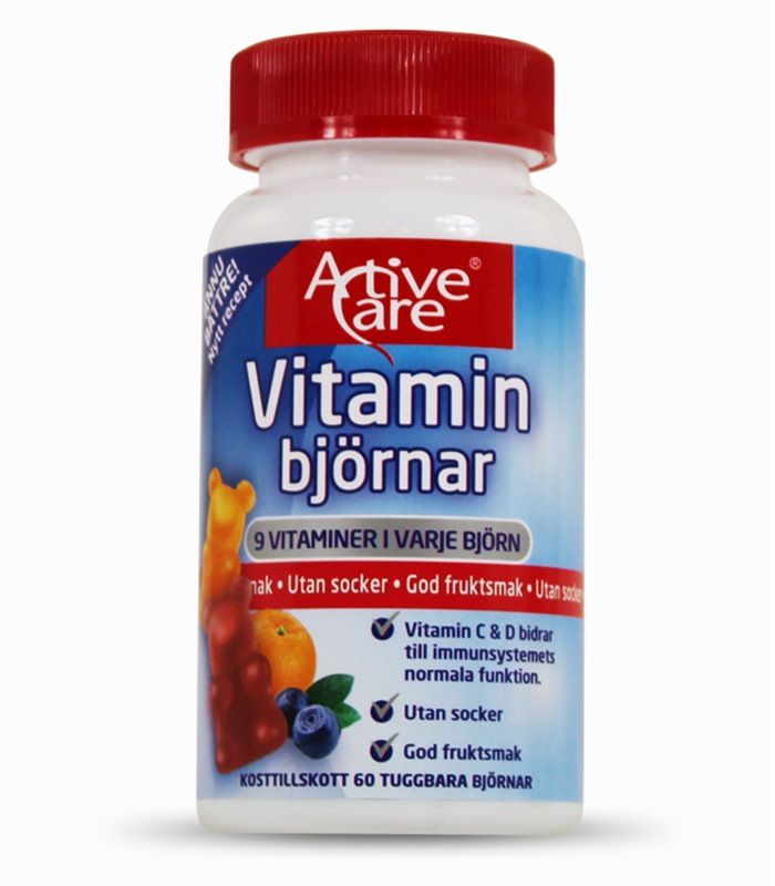 Vitaminbjörnar, Hälsokost - Active Care