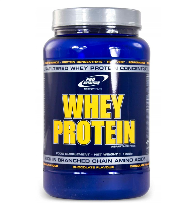 Pro Nutrition Whey Protein, Muskelbyggande & Prestation - Pro Nutrition