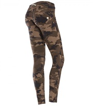 WR.UP Skinny Fit 7/8 Camouflage